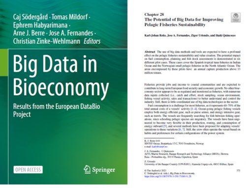"SusTunTech meets DataBio project at ""Big Data in Bioeconomy"" book"