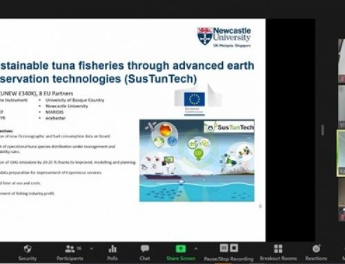 Alumni form 6 different counties attended the the first Newcastle University Maritime Webinar
