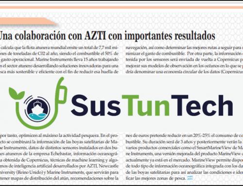 SusTunTech in Europa Azul magazine