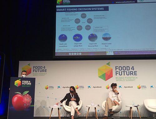 Sustuntech in Food 4 Future Bilbao Foodtech World Summit 2021