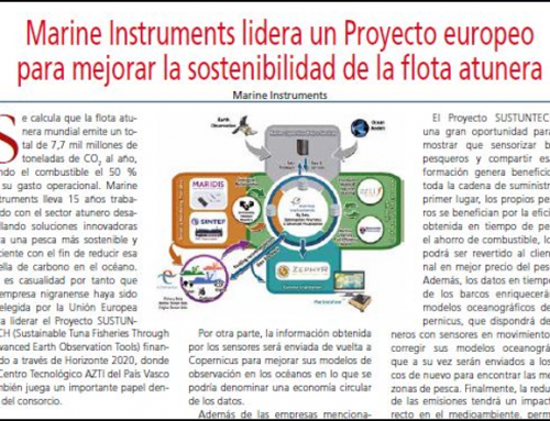 Sustuntech in the Spanish magazine, Ruta Pesquera