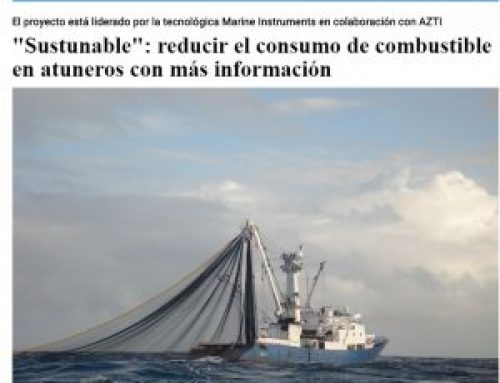 Sustuntech project in the Spanish Fishing magazine Industrias Pesqueras